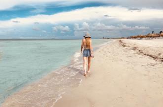 Copertina frasi sulla spiaggia