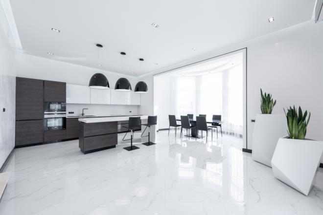 Pavimento di marmo come pulire