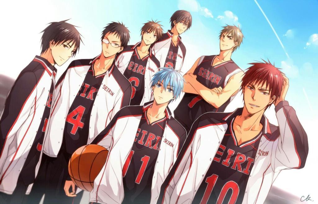 Kuroko no Basket personaggi