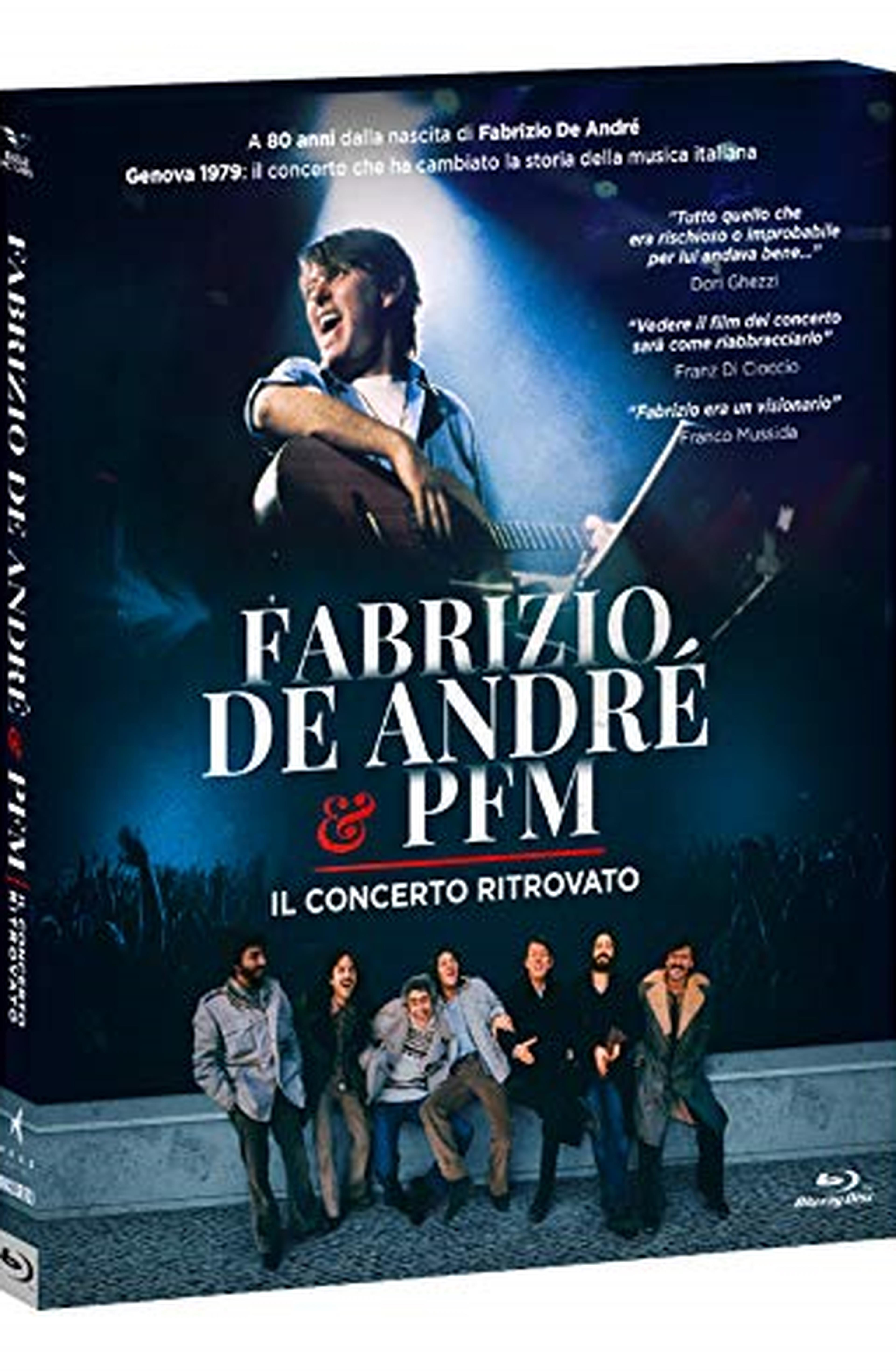 Fabrizio De André & Pfm - Il Concerto Ritrovato ( Blu Ray)