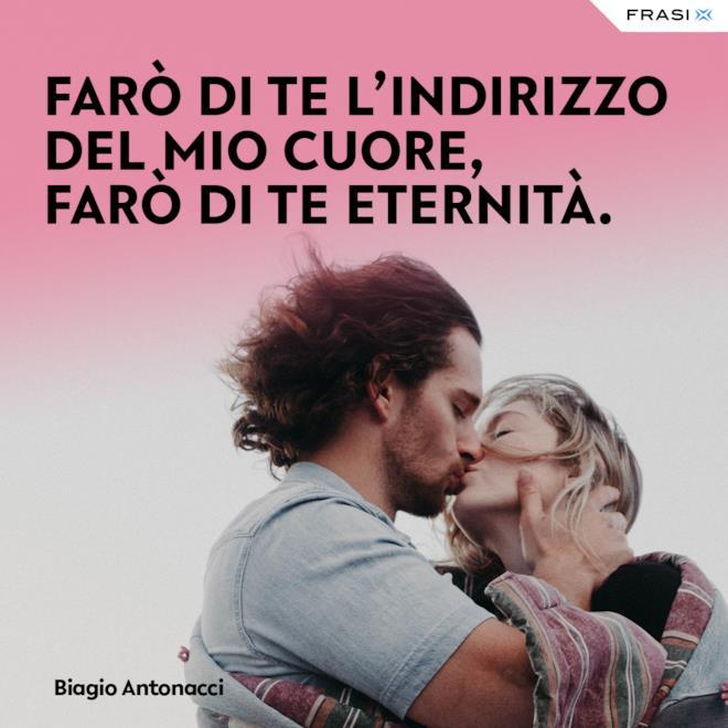 Dediche d'amore tratte da canzoni Biagio Antonacci