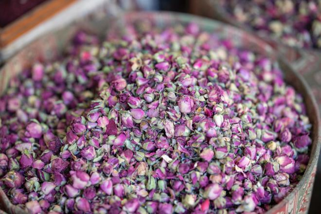 Consolida maggiore foglie di tè