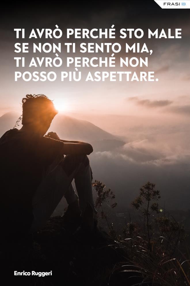 Dedica d'amore Enrico Ruggeri