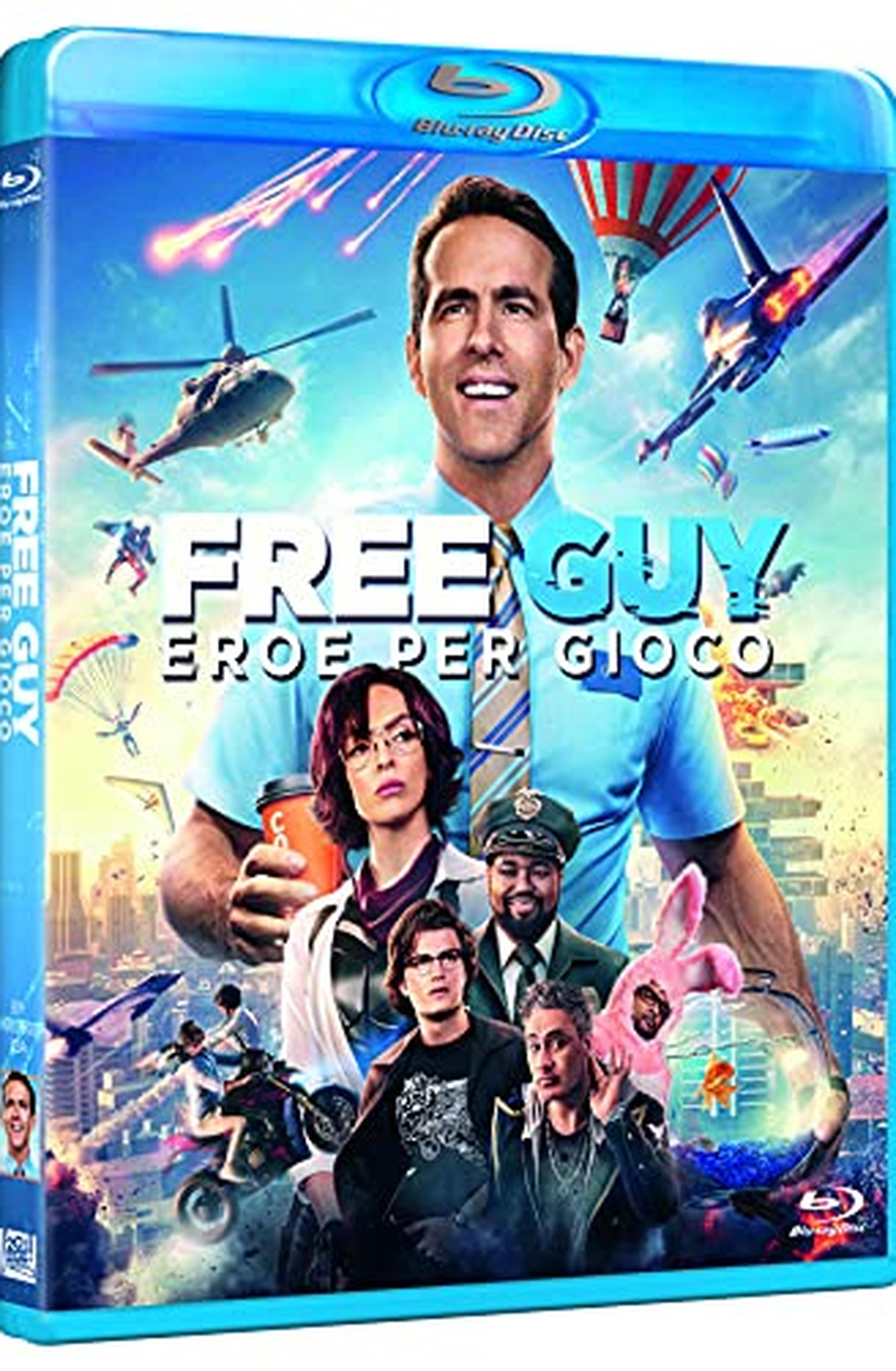 Free Guy ( Blu Ray)