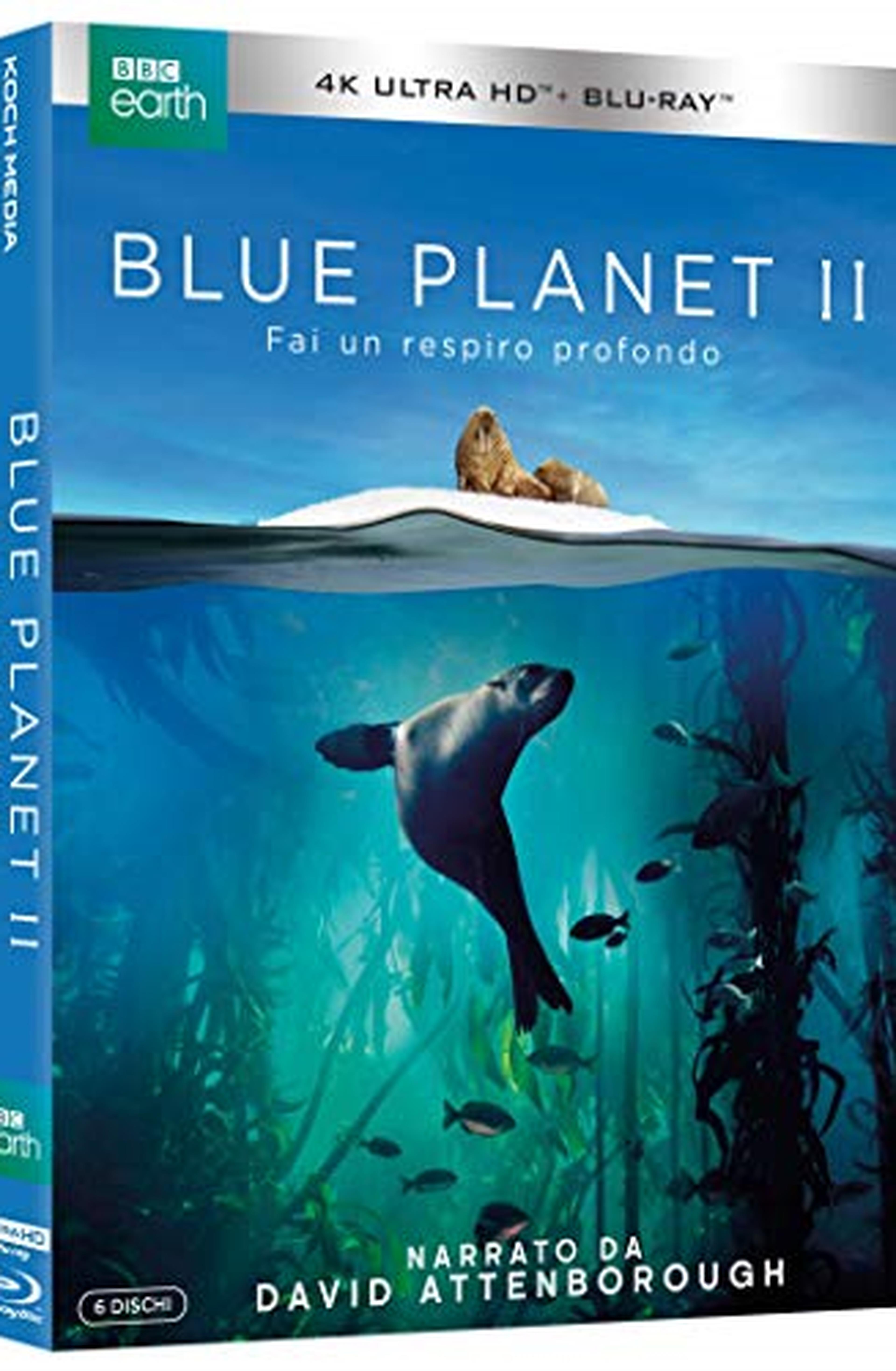 Blue Planet II (3 4K UHD + 3 Blu-ray + Booklet + 7 Cards)