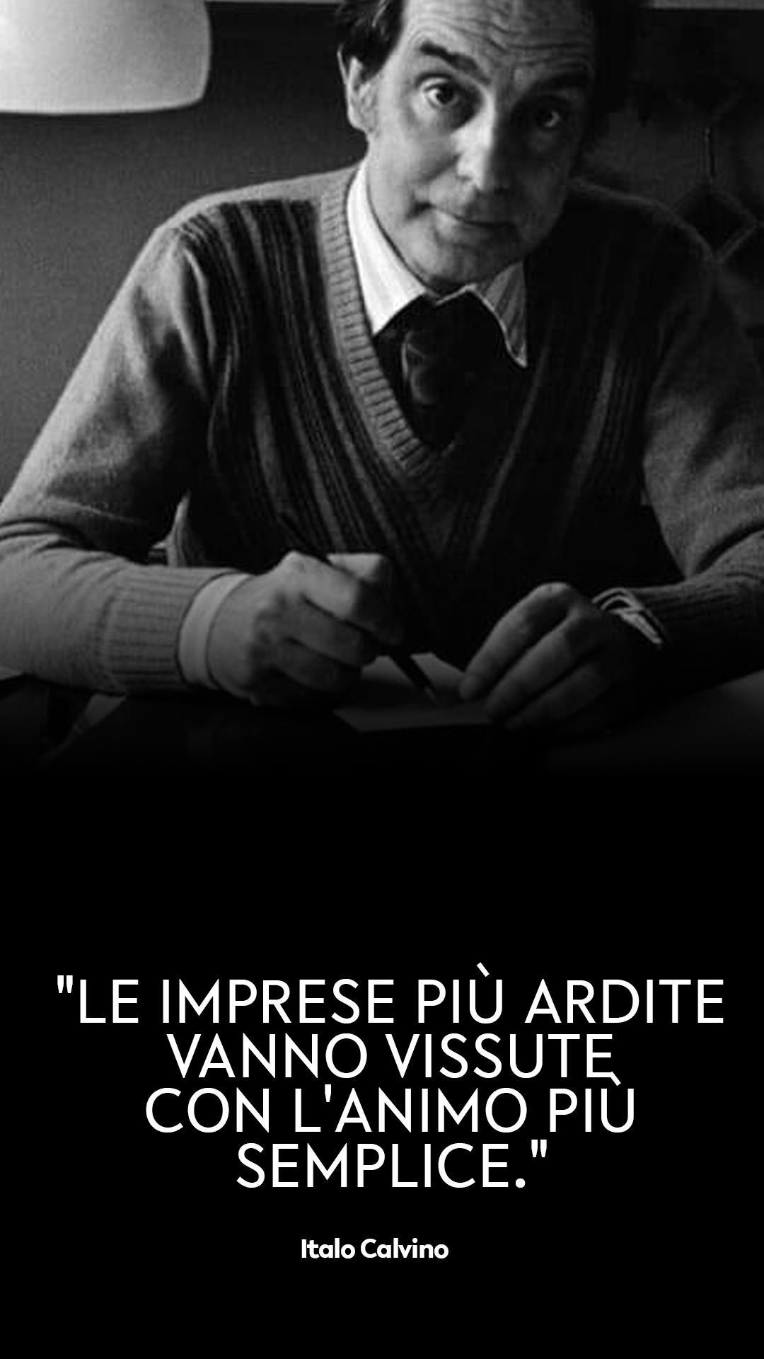Italo Calvino: le frasi migliori e più iconiche dello scrittore