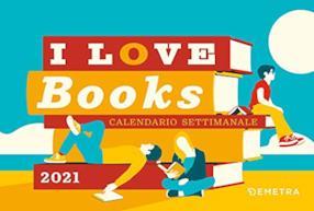 I love Books. Calendario 2021