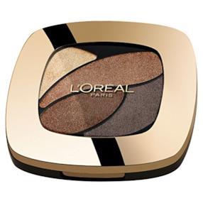 L'Oréal Paris Color Riche Quad Palette Ombretti, E3 Forever Bronze