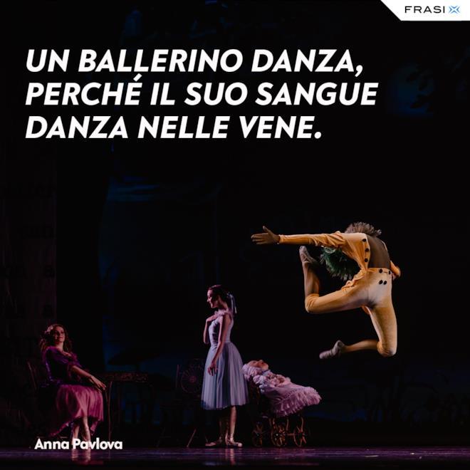 Frasi sulla danza e anima Anna Pavlova