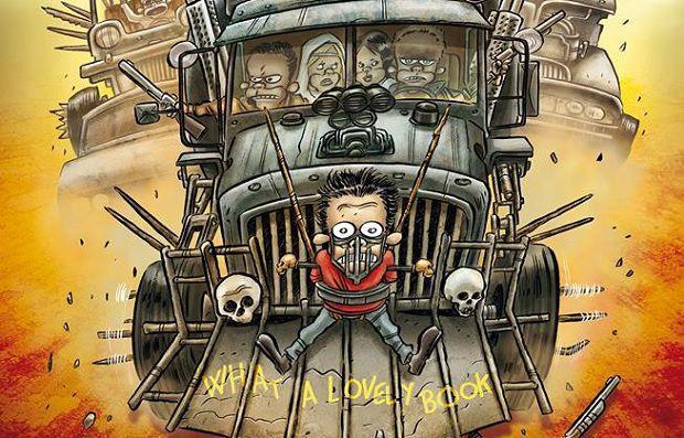 La copertina variant del volume per le librerie Feltrinelli è dedicata a Mad Max