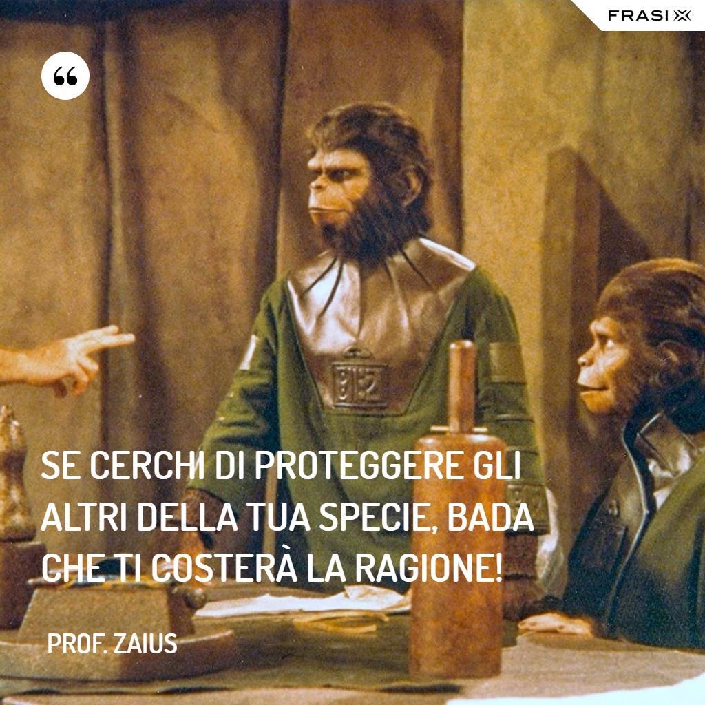 Immagine con frase de Il pianeta delle scimmie