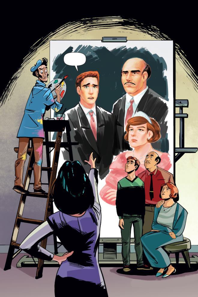 Veronica tenta di imporre il suo stile di vita alla famiglia Andrews