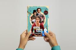 Le copertine delle edizioni italiane di Enola Holmes