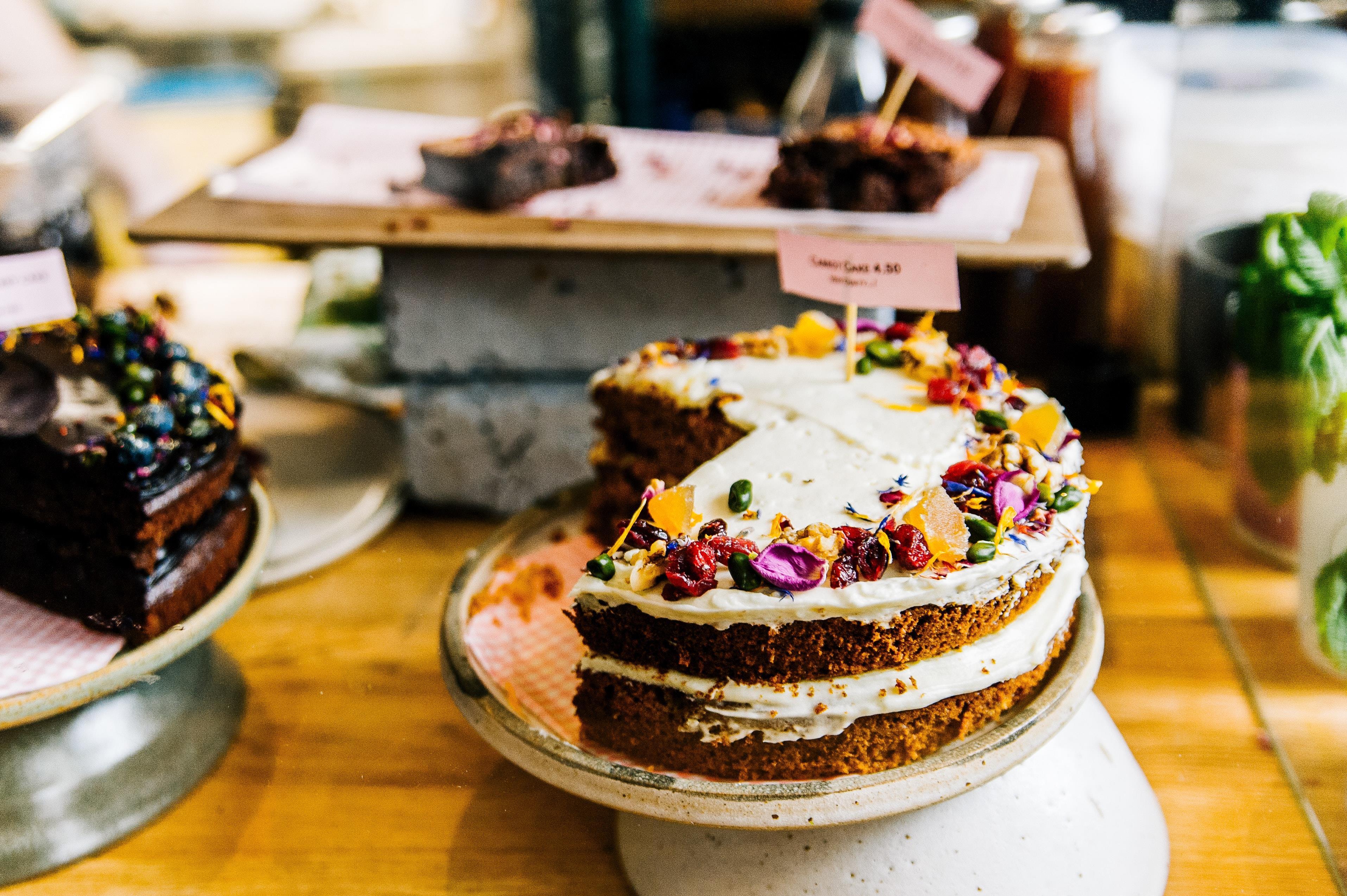 Copertina frasi sulle torte