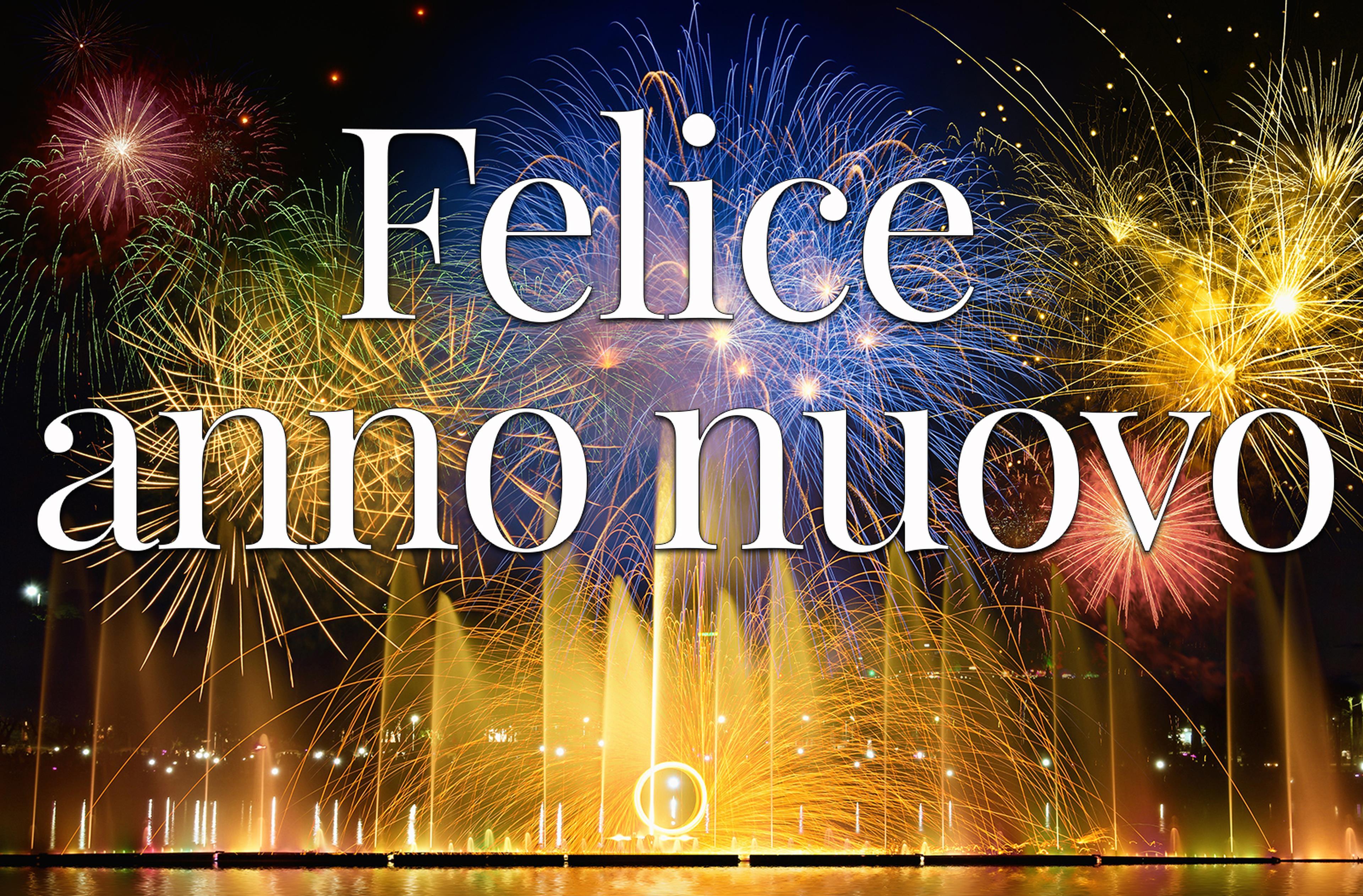 Copertina felice anno nuovo