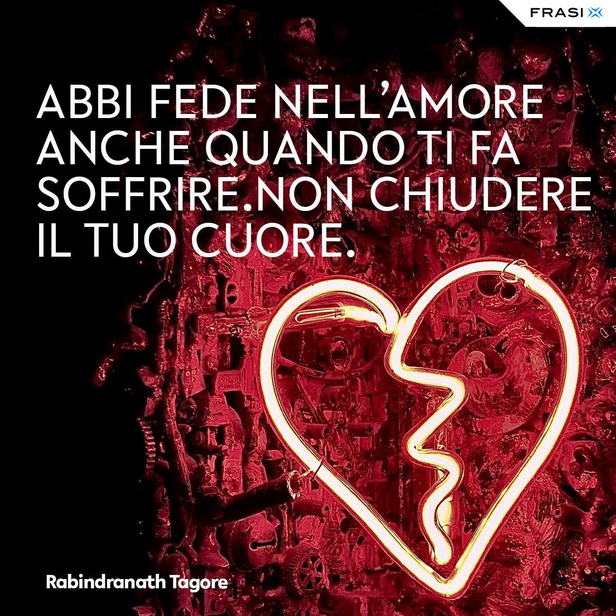 Aforismi amore impossibile Rabindranath Tagore