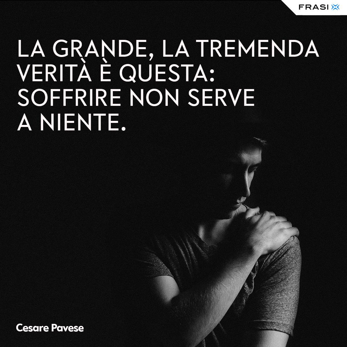 Frasi depresse e tristi Cesare Pavese