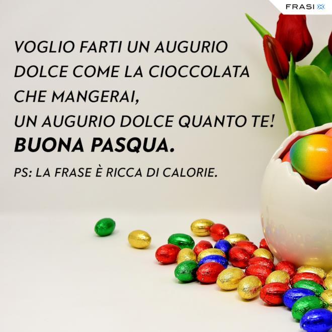 Buona Pasqua frasi dolci