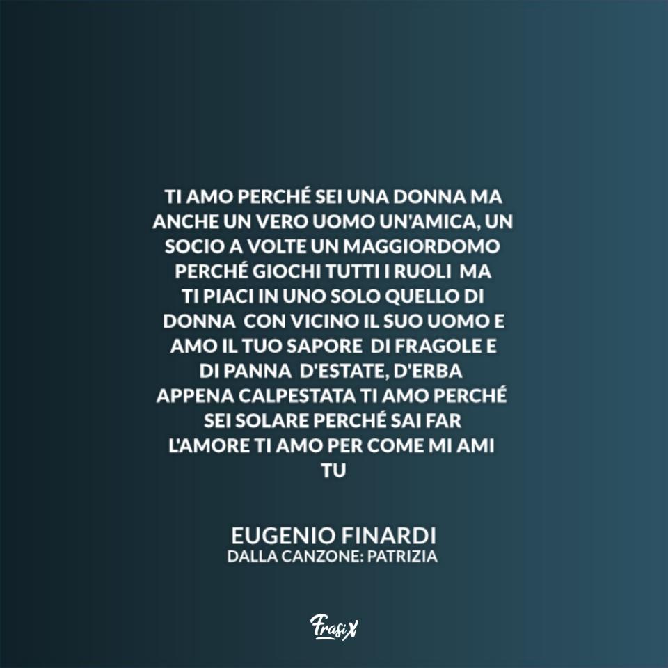 Patrizia - Eugenio Finardi