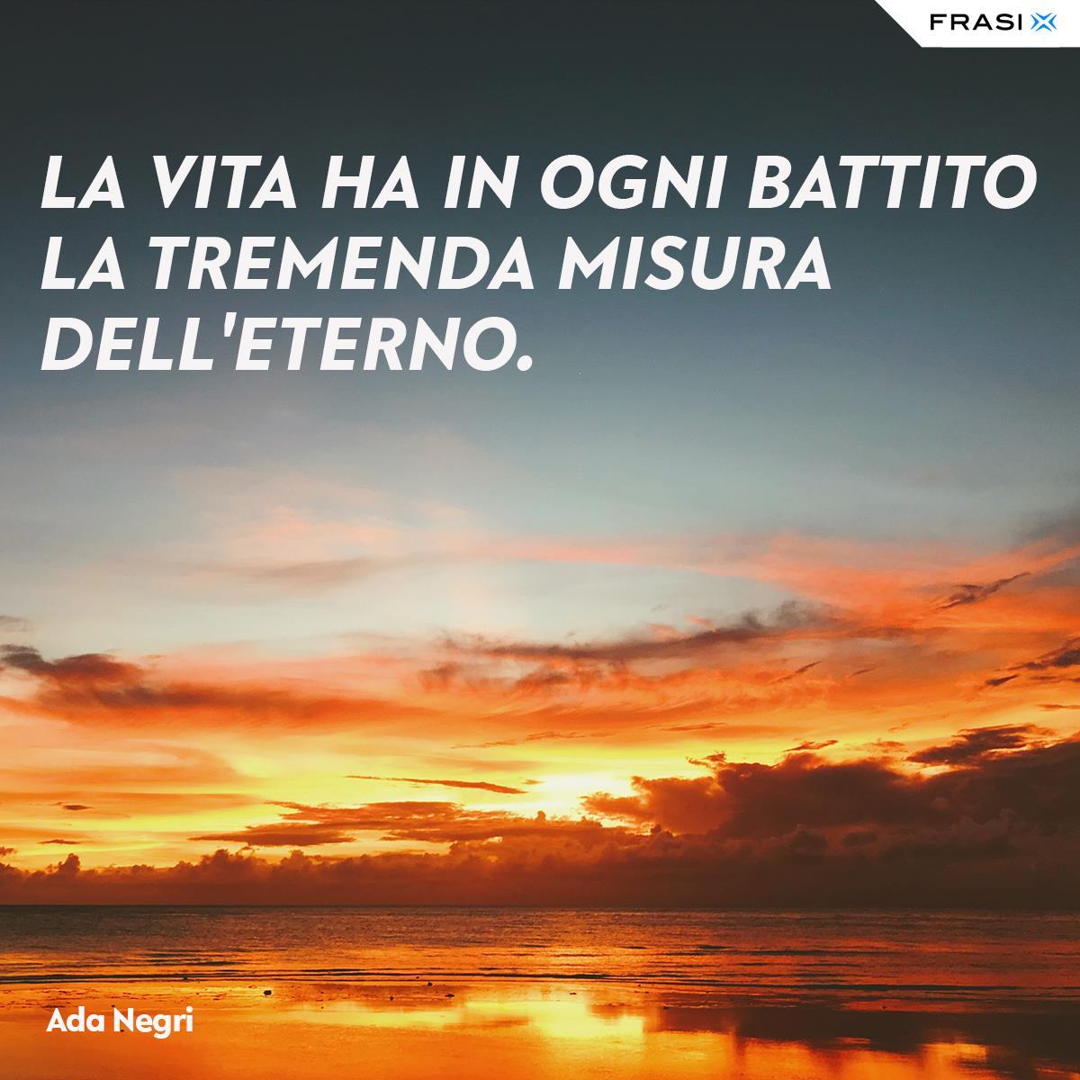 Frasi sulla vita per Facebook Ada Negri