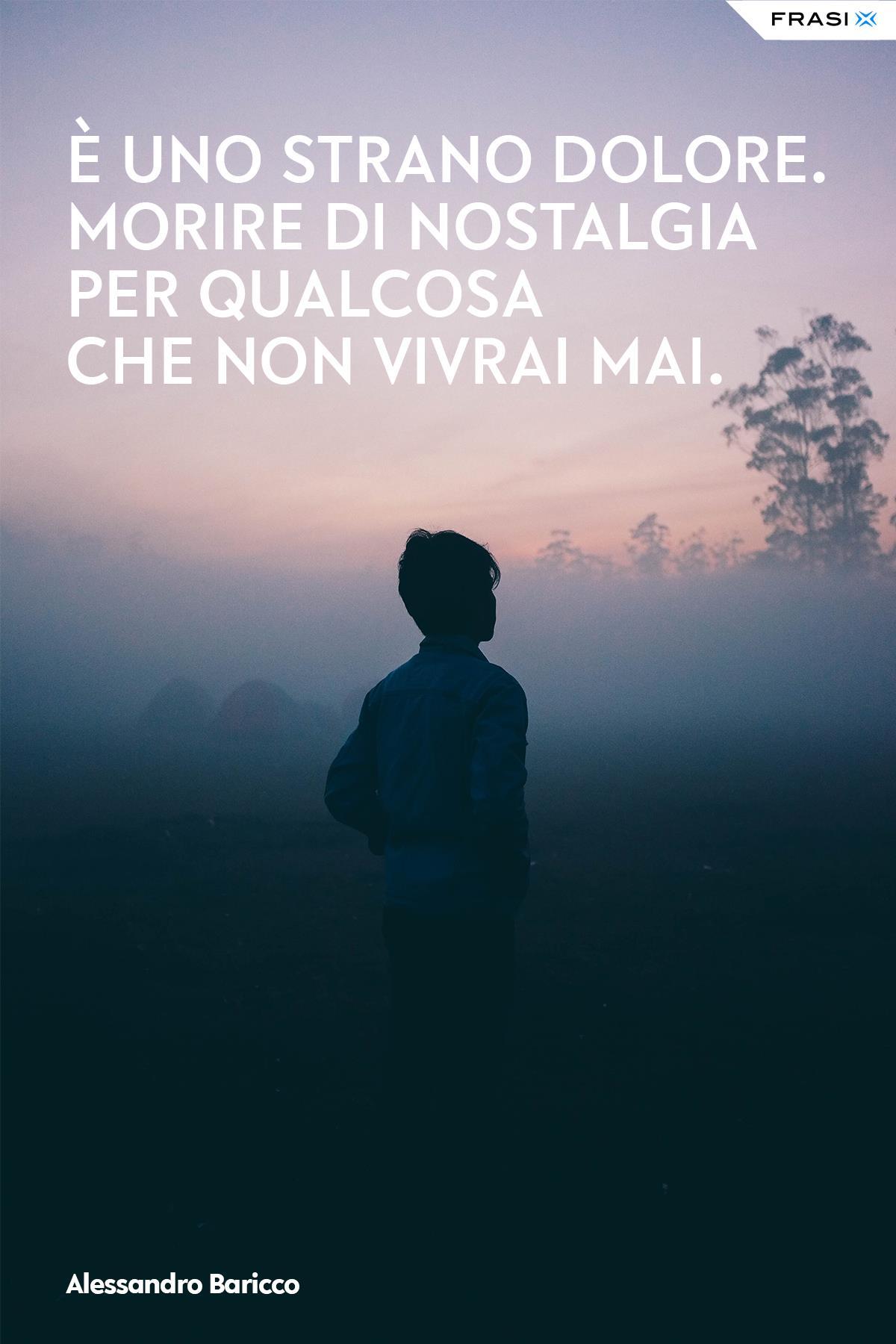 Frasi tristi e depresse Alessandro Baricco