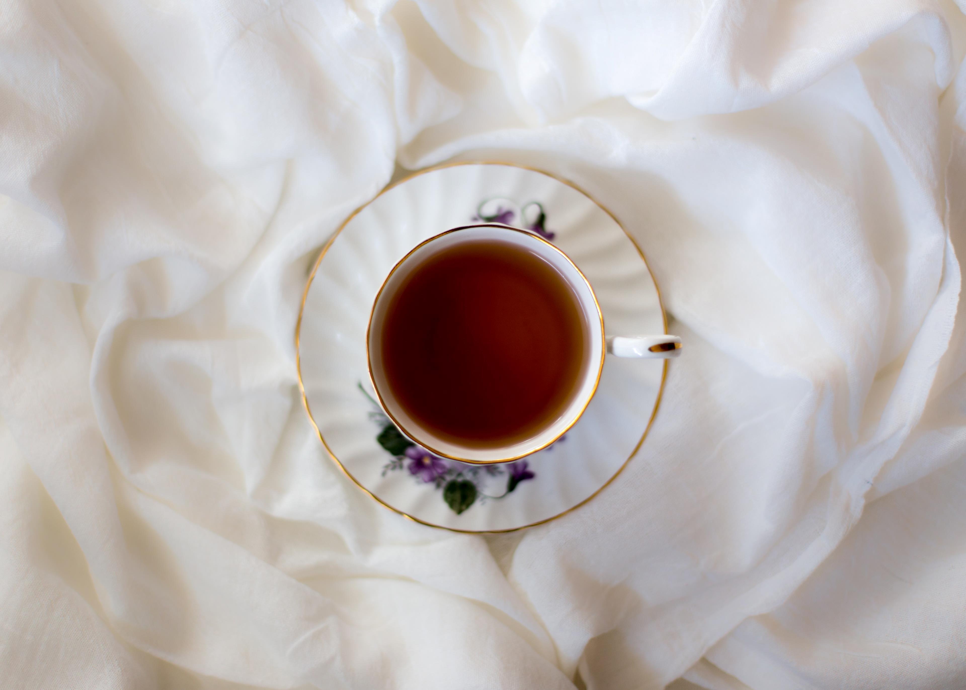 Tazza di tè nero