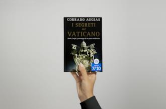 I segreti del Vaticano, cover del libro