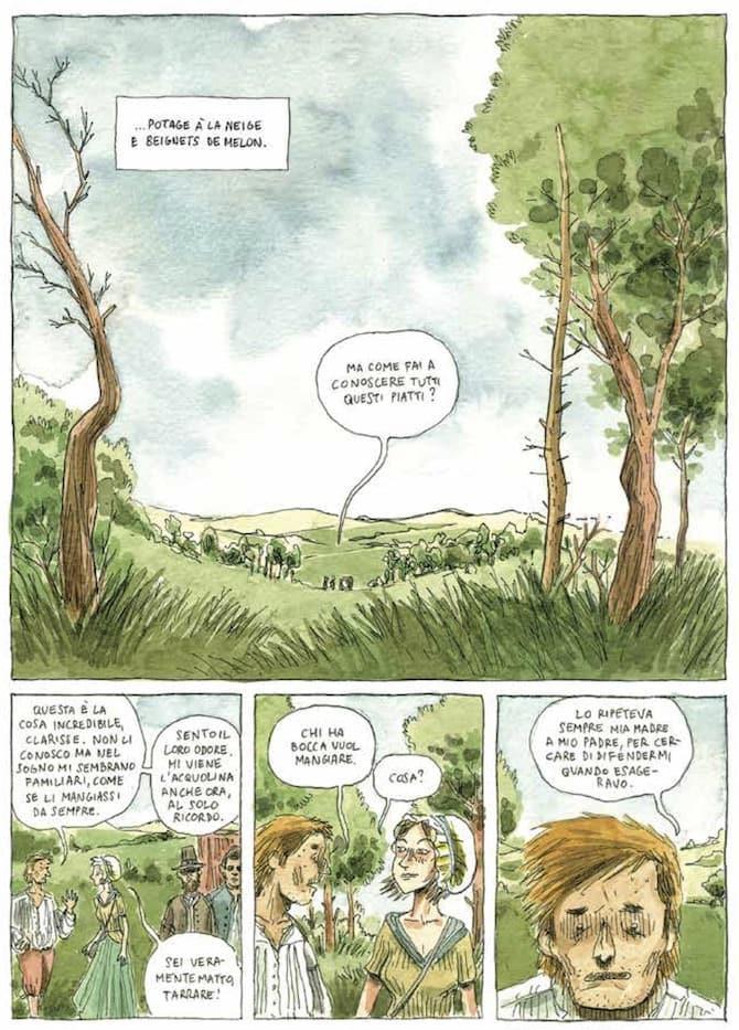 Il sogno di Tarrare nelle prime pagine del volume