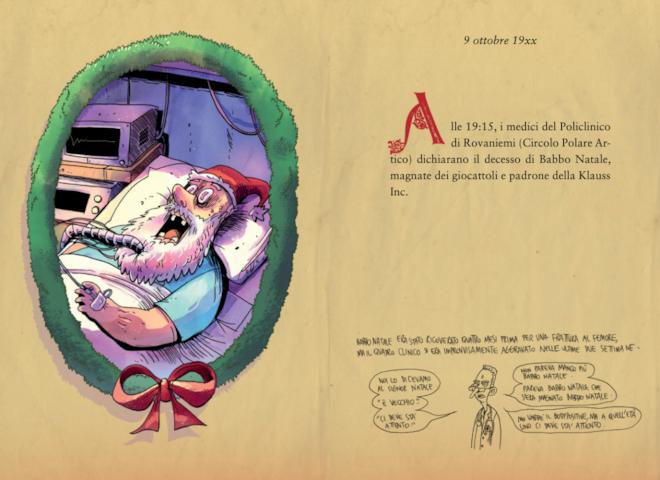 La morte di Babbo Natale in A babbo morto