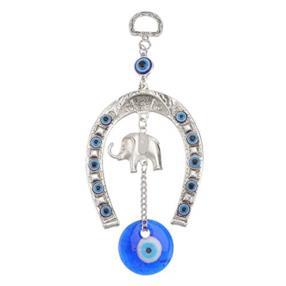 Malocchio Blu Turco con Amuleto Decorativo da Parete
