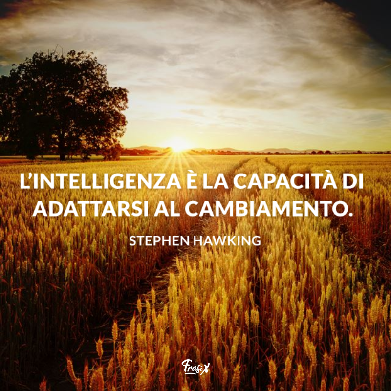 Stati WhatsApp corti di Stephen Hawking