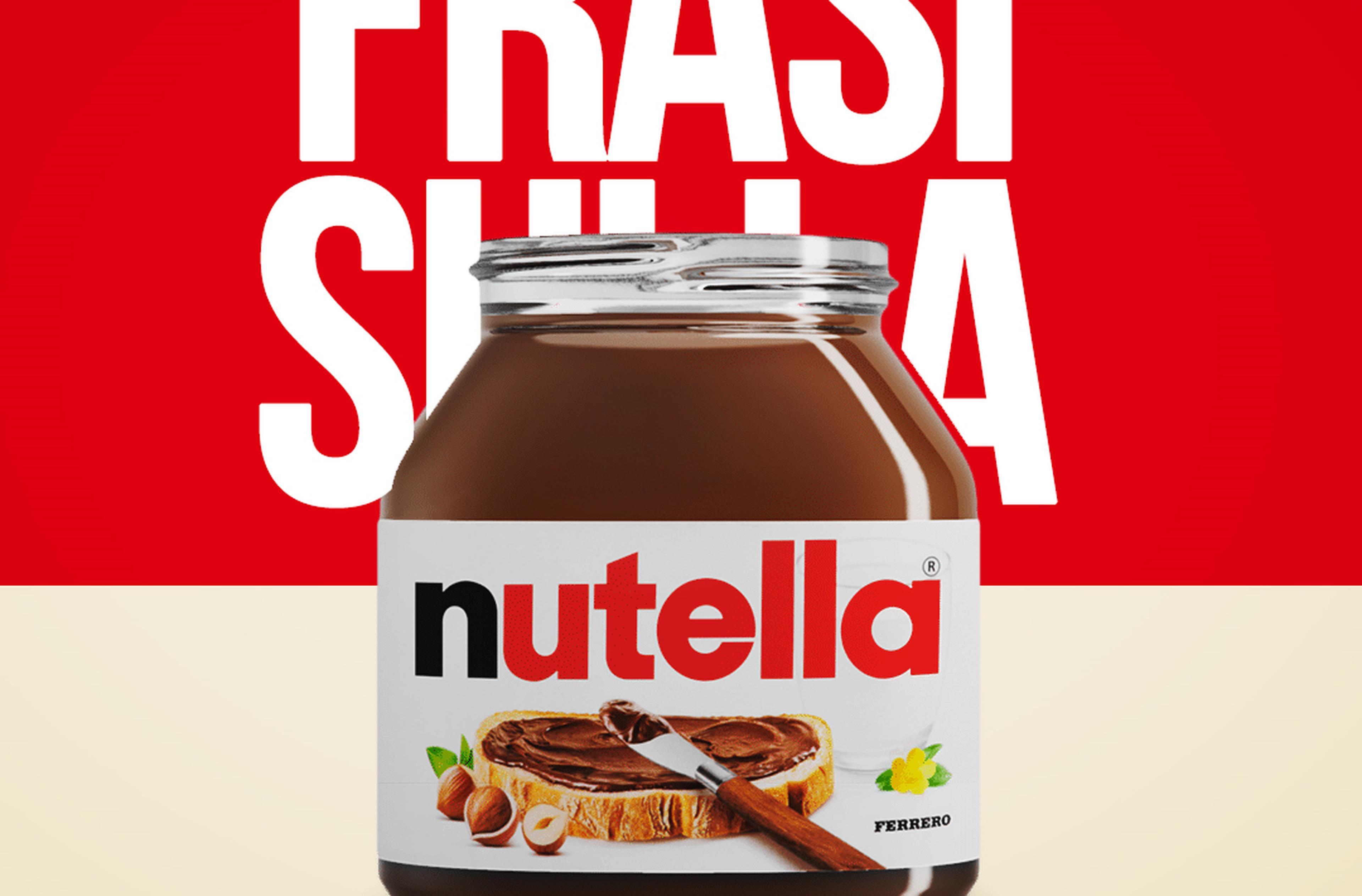 Copertina Frasi sulla Nutella