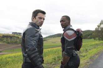Copertina the Falcon and The Winter Soldier frasi