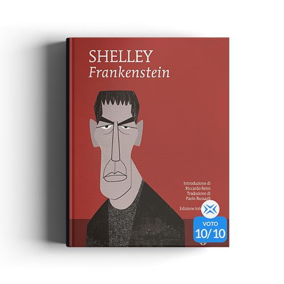 Libro Frankenstein di Mary Shelley