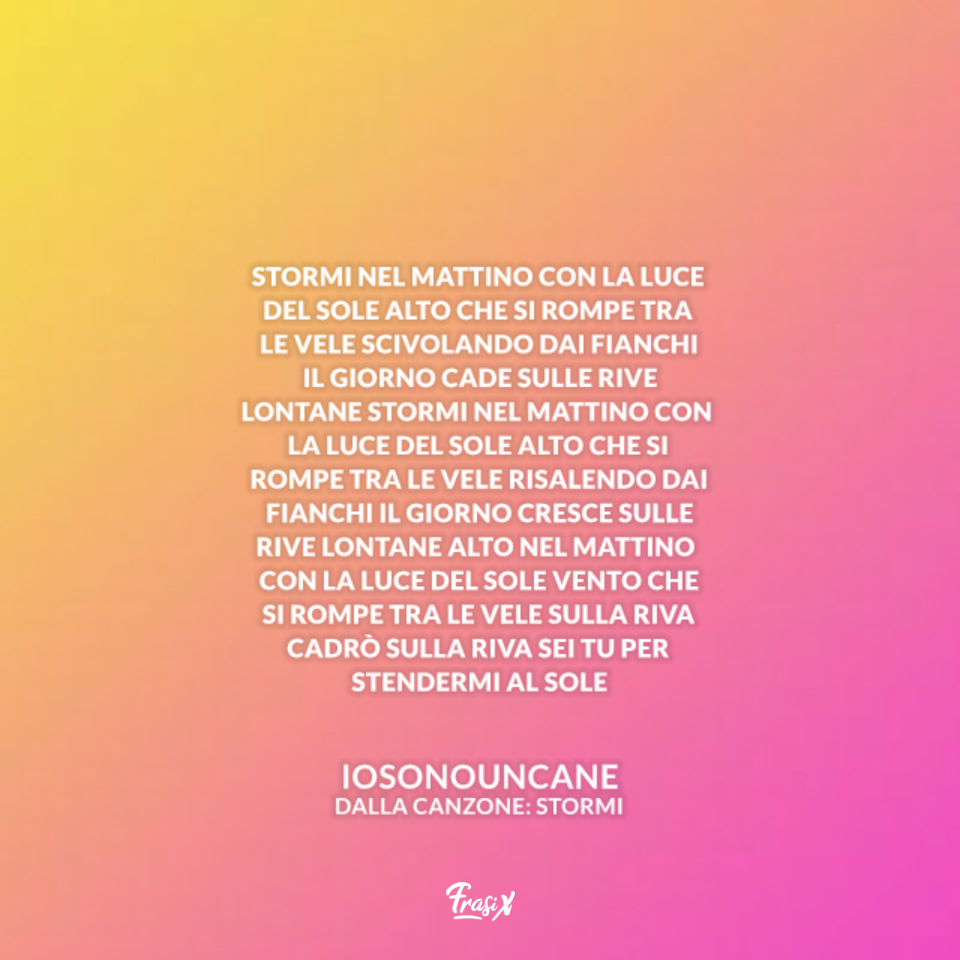 Stormi - Iosonouncane