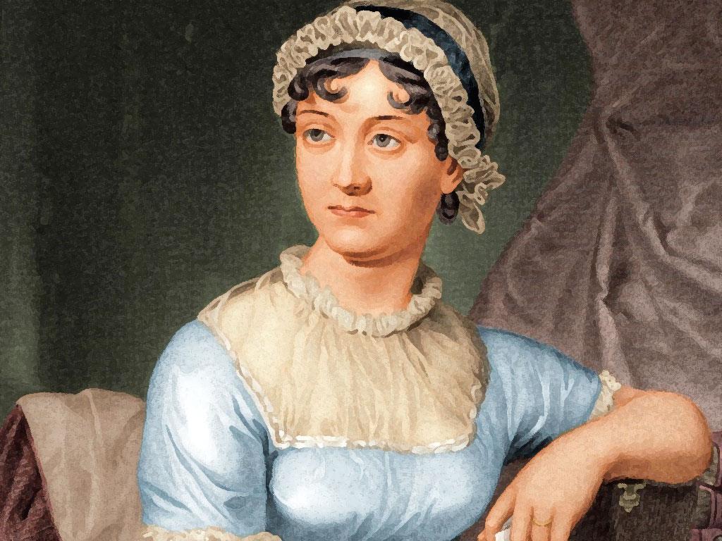 La scrittrice Jane Austen