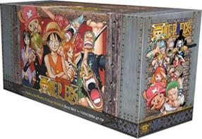 "One Piece Box Set 3: Thriller Bark to New World, Bonus Mini Comic ""One Piece x Dragon Ball"": 47-70"