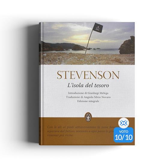 L'isola del tesoro, cover del libro