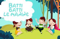 Batti batti le manine: il testo e il video della canzone per bambini