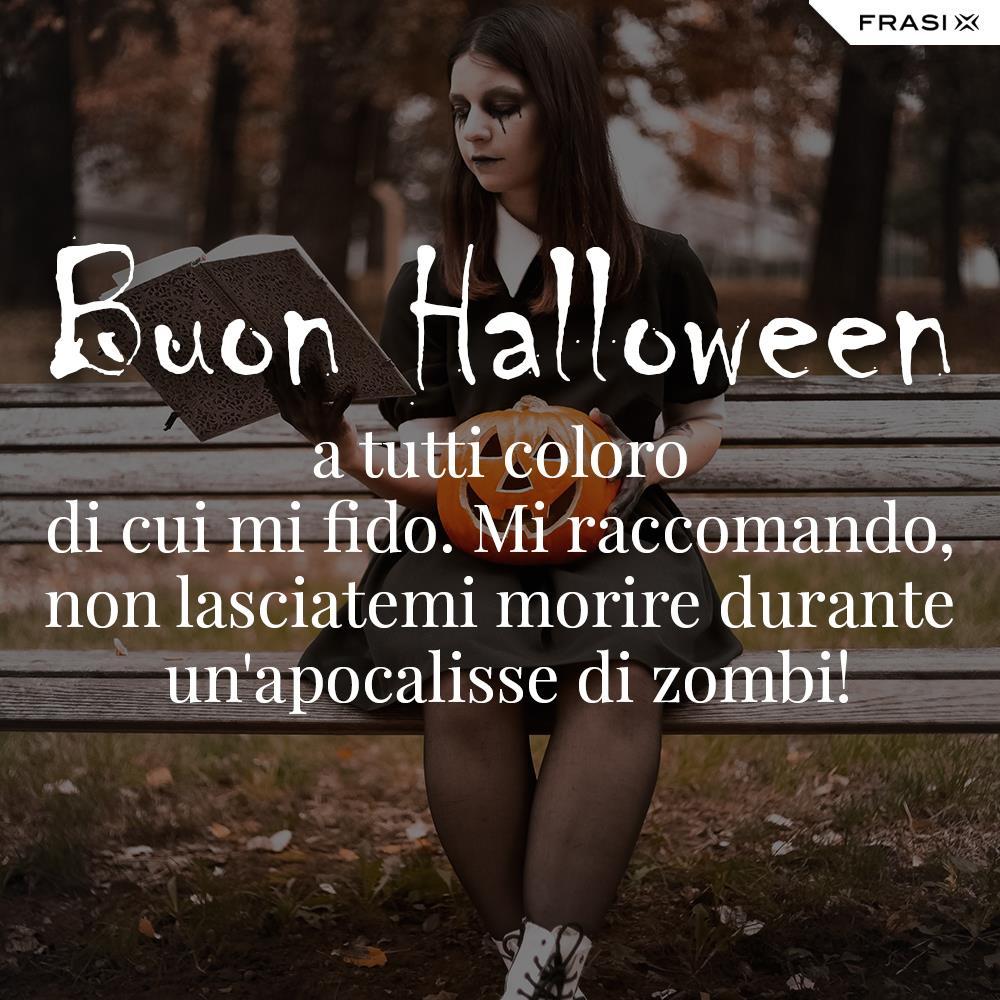 Buon Halloween frasi divertenti