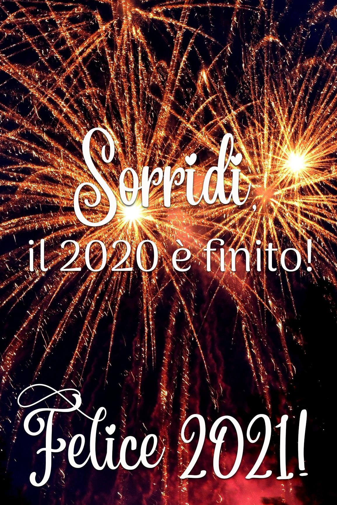 Buon anno 2021 auguri