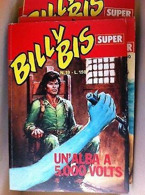 Billy Bis Super 19 1973 ed.Universo FU07