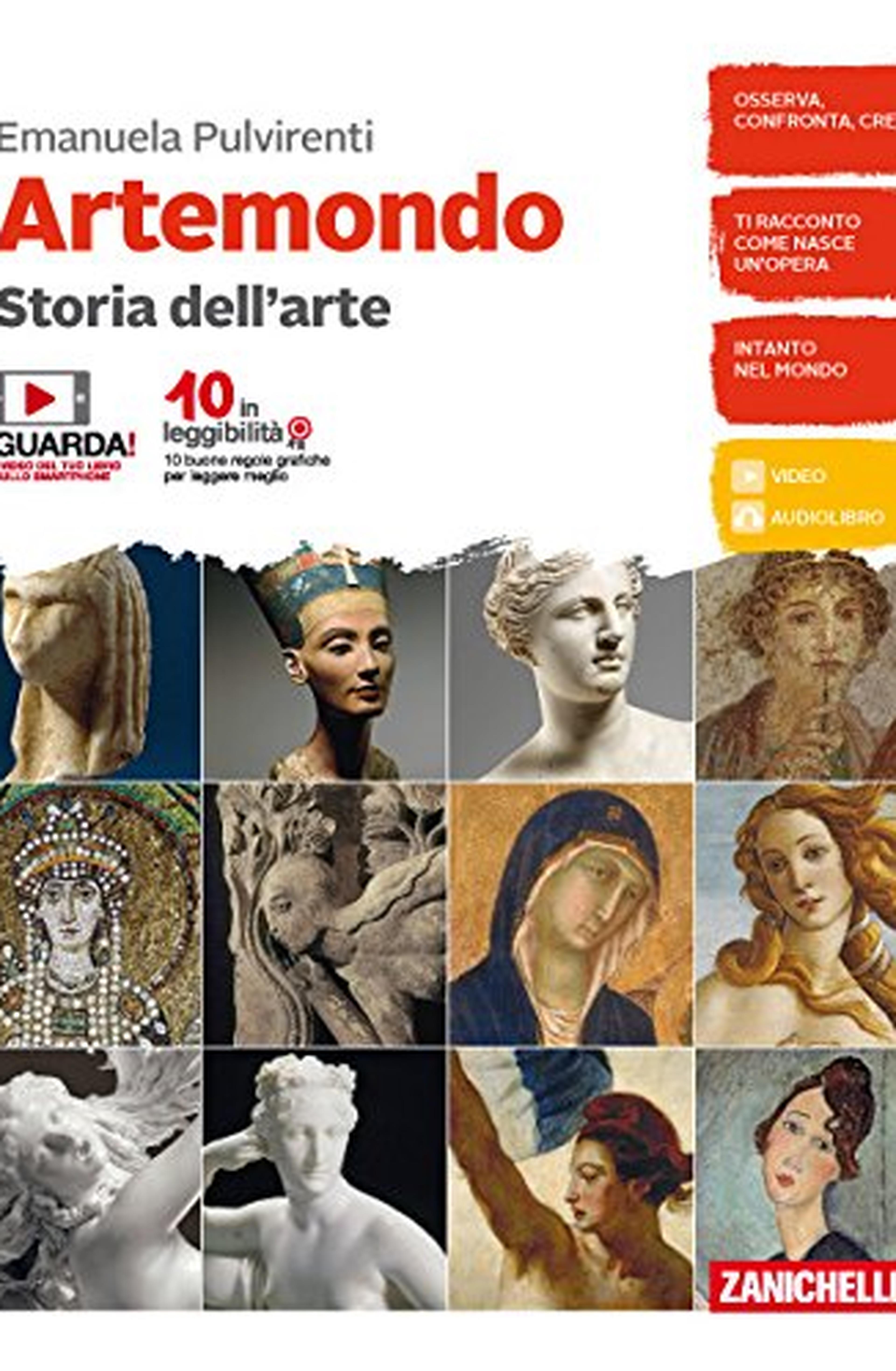 Artemondo. Per le Scuole medie. Con e-book. Con Libro: Album: Artemondo. Per le Scuole media. Con e-book. Con Libro: Album
