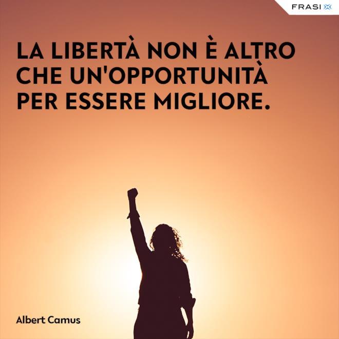 Frasi sulla libertà social Albert Camus
