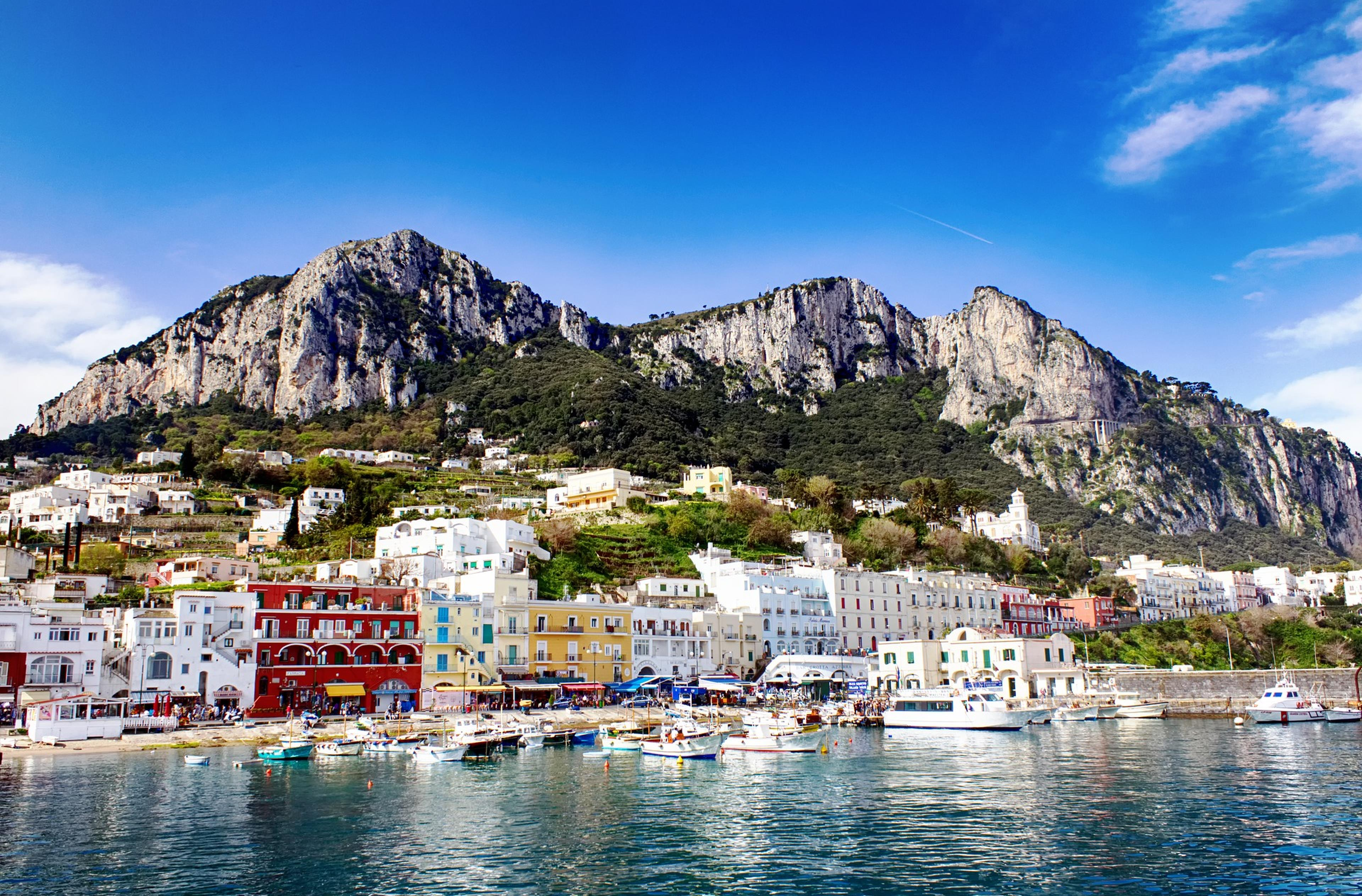 Copertina frasi su Capri