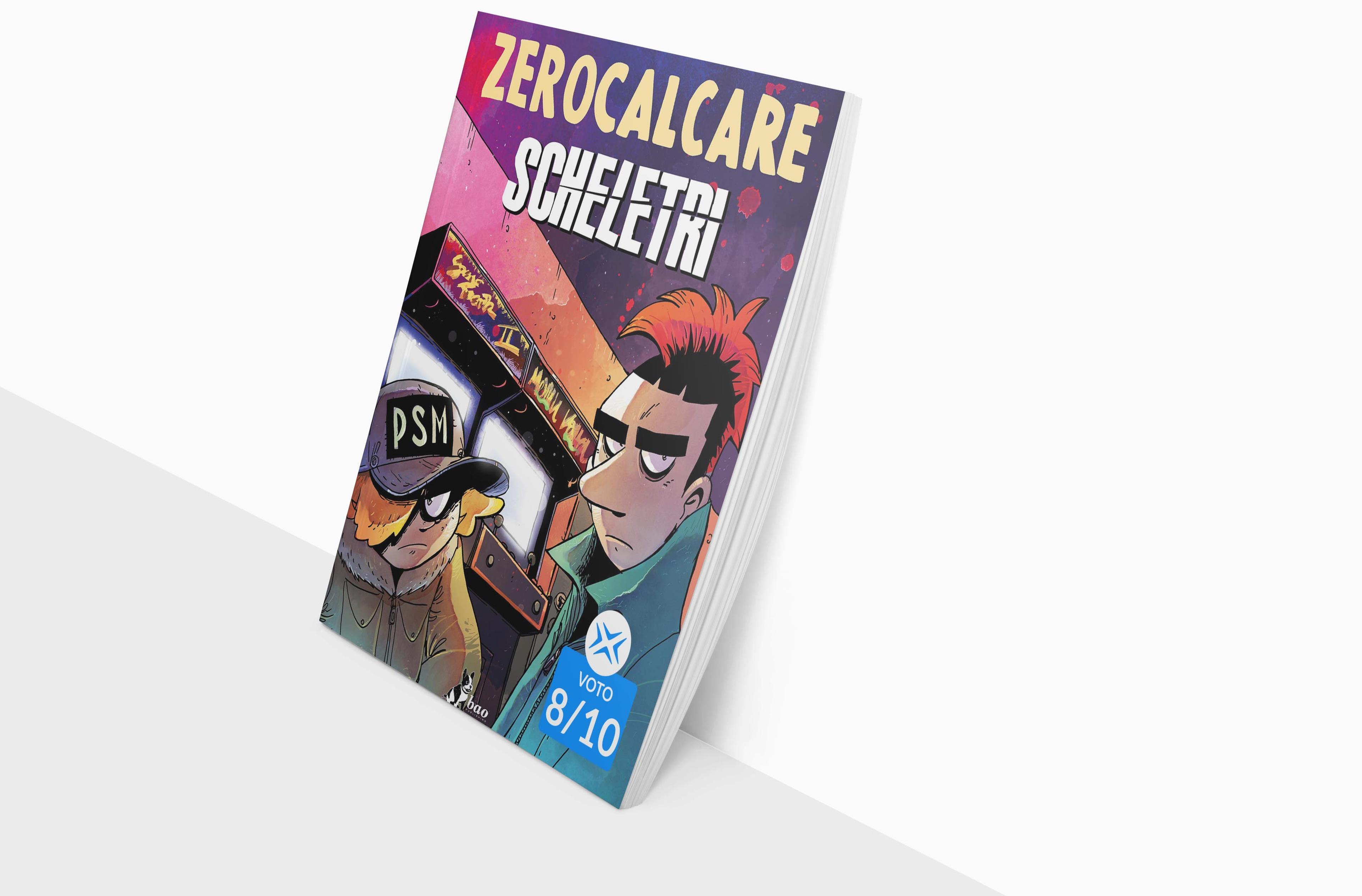 La copertina di Scheletri