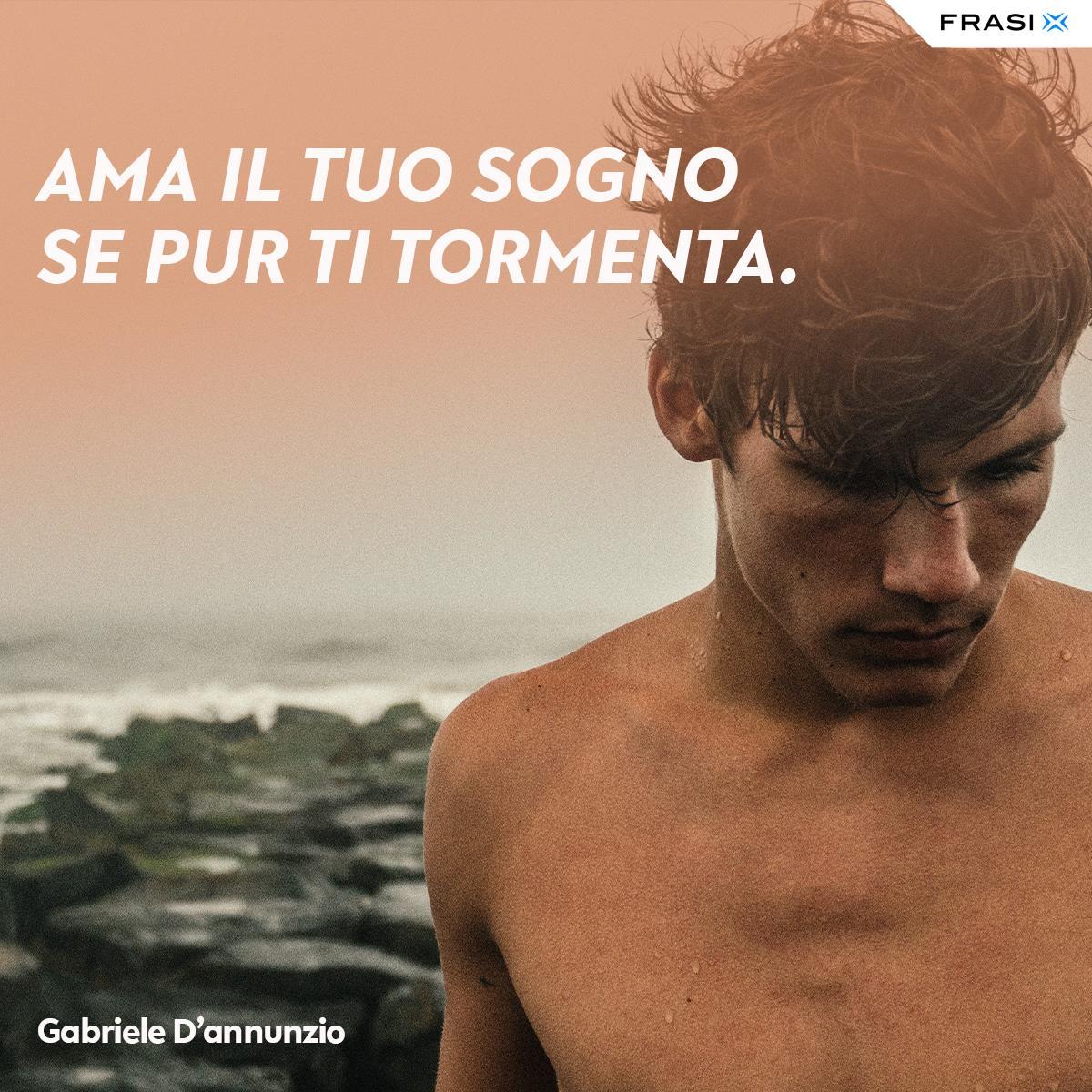 Frasi per foto Facebook Gabriele D'annnunzio