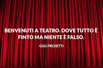 Copertina frasi sul teatro