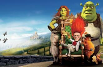Shrek 4 cover