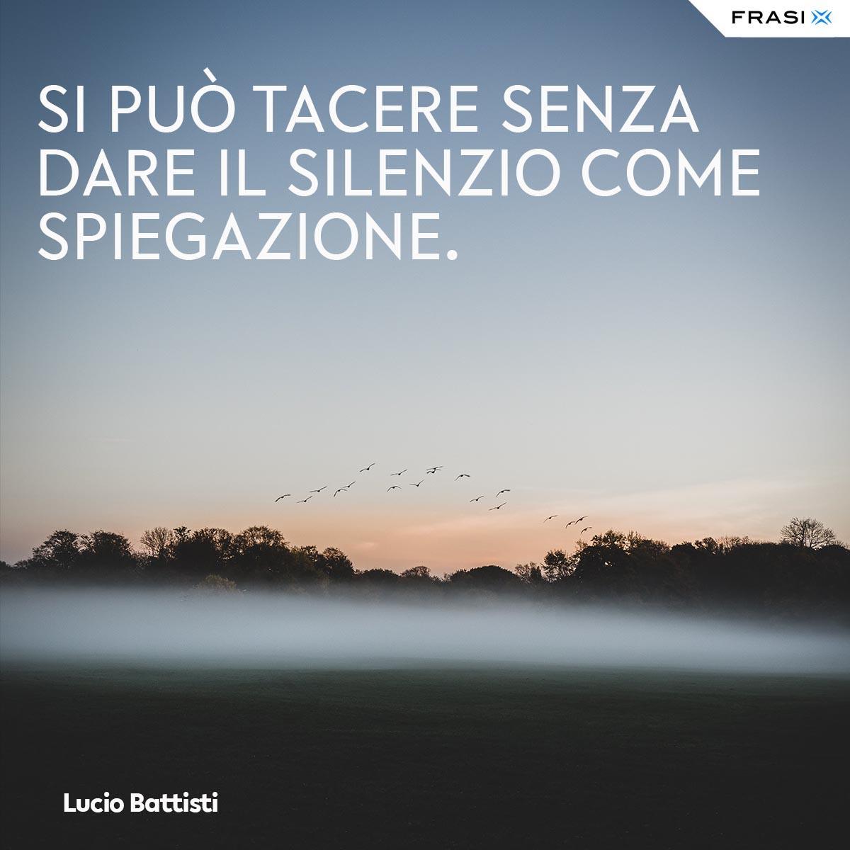Frasi tumblr Lucio Battisti